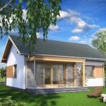 7-proiect casa de vacanta mica de 57 mp cu 2 dormitoare