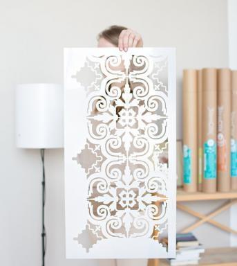 7-sablon model placi decorative Porto magazin Stencilit