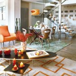 7-scara interioara apartament modern Madrid Spania