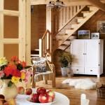 7-scara interioara casa taraneasca polonia