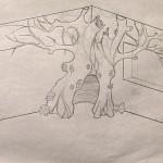 7-schita initiala a copacului construit de Rob Adams