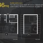 7-schita modul 46 mp parter si etaj cu un dormitor versiunea de lux