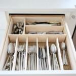 7-sertar pentru tacamuri mobila de bucatarie compartimentat