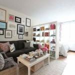 7-solutii amenajare dormitor in living apartament mic sau garsoniera
