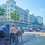 7-strada din centru orasul Alexandria Egipt