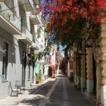 7-straduta pietruita in centrul istoric al Naflio