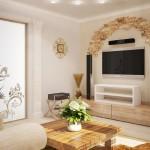 7-sugestie de utilizare a pietrei decorative in amenajarea livingului