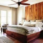 7-tablie de pat impresionanta din lemn cu aspect rustic decor perete dormitor