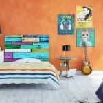 7-tablie decorativa pentru pat model vintage Noyo Home