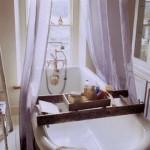 7-tava suport accesorii pentru cada din baie