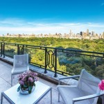 7-terasa cu vedere spre Central Parck New York apartament Sting