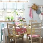 7-textile in culori vesele de primavara decor loc de luat masa bucatarie