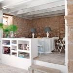 7-trepte de acces spre locul de luat masa din livingul open space