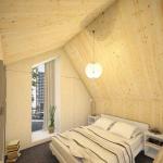 7-varianta amenajare dormitor casa modulara prefabricata 45 mp cu tot cu etaj Heijmans One