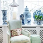 7-vase ceramice albastre accente cromatice de primavara decor casa