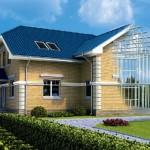 7-vizualizare structura metalica a unei case cu parter si mansarda