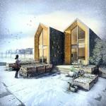 8-Heijmans One case modulare prefabricate 45 mp cu tot cu etaj modele ideale pentru loturi de teren inguste si mici