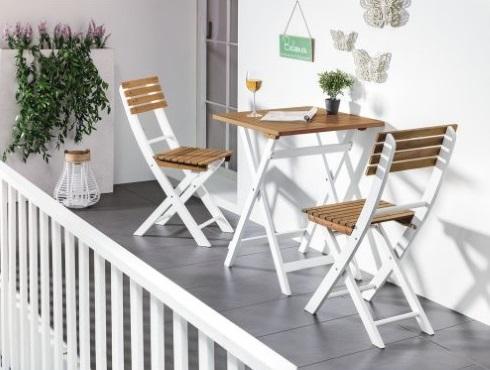 Set masa scaune balcon oferta 2019 Kika
