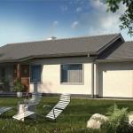 8-alt unghi al proiectului de casa cu suprafata locuibila de 82 mp cu garaj