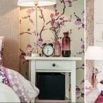 8-amenajare dormitor in alb gri si violet