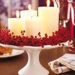 8-aranjament decorativ cu lumanari aranjare masa cina romantica