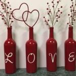 8-aranjament decorativ din sticle pentru ziua indragostitilor