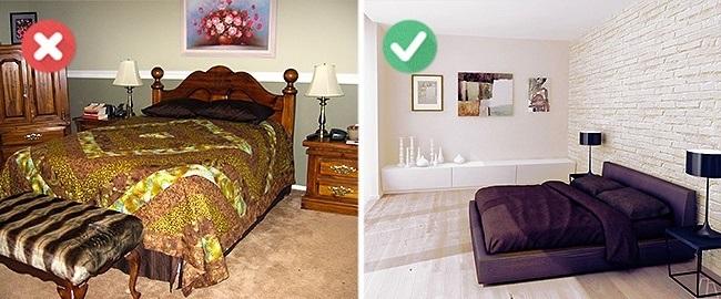 8-aranjare pat si asortare lenjerie pat dormitor