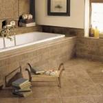8-baie eleganta finisata cu piatra naturala travertin care nu aluneca