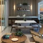 8-balcon modern spatios cu bucatarie si loc de luat masa