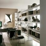 8-biblioteca etajera pentru carti cu functie de paravan despartitor living modern