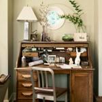 8-birou vintage din lemn masiv casa veche stil tudor renovata