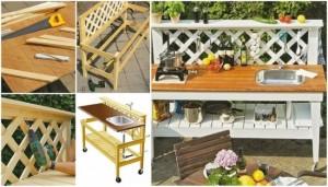 8-bucatarie de exterior mobila pe cadru din lemn