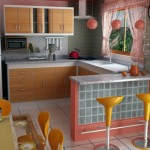 8-bucatarie open space cu bar idei amenajare