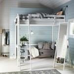 8-camera tineret cu pat suspendat si loc de relaxare dedesubt