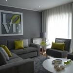 8-canapea gri asortata cu pernute decorative verde anason