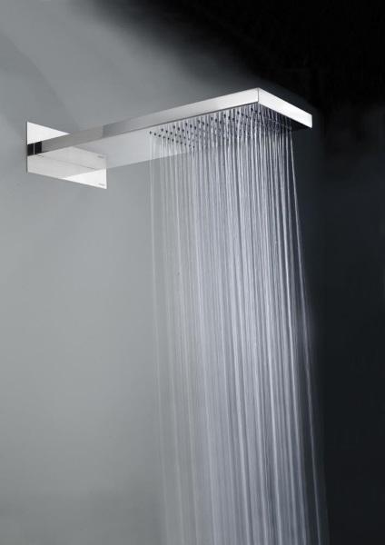 accesorii baie dus 8 cap de dus design modern forma dreptunghiulara baie :: CasaDex  accesorii baie dus