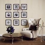 8-colectie de tablouri mici inramate decor perete living