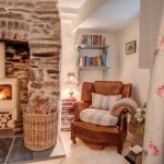 8-colt de lectura living rustic casa mica din piatra