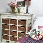 8-comoda cu sertare din cosuri de rachita impletita dormitor casa mica Spania