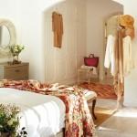 8-cuvertura cu imprimeu floral decor dormitor de vara