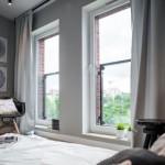 8-decor dormitor minimalist apartament decorat in alb gri si negru