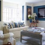 8-decor elegant amenajare living mic in alb si albastru