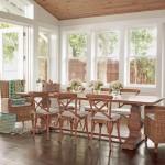 8-dining loc de luat masa casa din lemn pe plaja dupa renovare