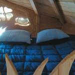 8-dormitor casuta de lemn in copac Dol de Bretagne Franta