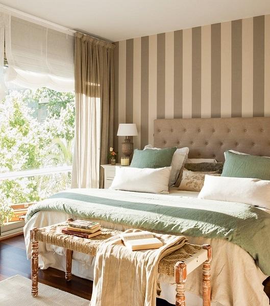 8-dormitor decorat in nuante de bej si accente bleu pastel