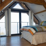 8-dormitor mansarda vedere mare sheringham marea britanie