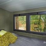 8-dormitor matrimonial mansarda casa mica lemn DroomParken Village