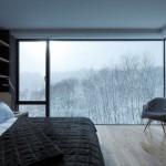 8-dormitor modern amenajat in alb si negru