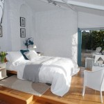 8-dormitor rustic elegant decorat in alb casa de vacanta Devon Anglia