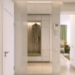 8-dressing placat cu oglinzi hol intrare apartament mic 2 camere